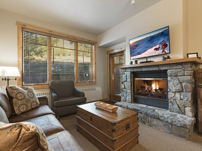 Photo for Immaculate ski in ski out condo - all new furniture, direct ski in and out