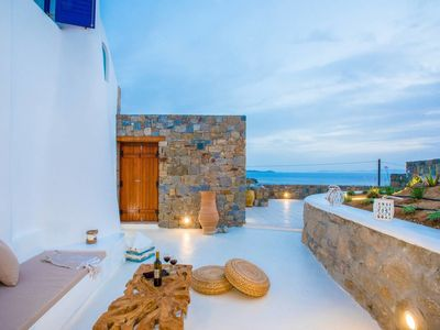 Photo for Gorgeous Studio in Cycladic Architecture Overlooking the Aegean