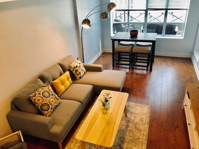 Photo for MODERN 2BD+PARKING+TERRACE. INTHE HEART OF THE FINANCIAL /ENTERTAINMENT DISTRICT