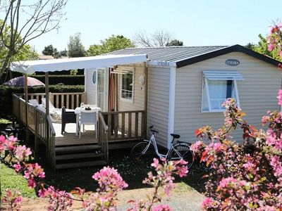 Photo for Camping Flower Les Ilates **** - Mobil Home Comfort Plus 3 Rooms 4/6 People