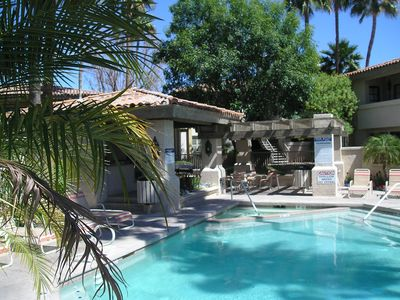 Photo for 1 Bed/1 Bath Fully Furnished Resort Style Condo in Gated Community
