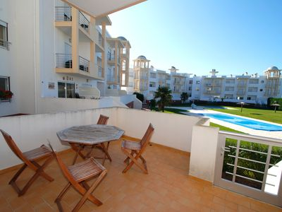 Photo for Turtle - 3 bedroom apartment in Nazaré with 2 shared pools and private terrace.