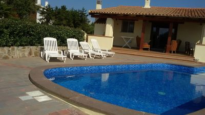 Photo for Tony upper part of a semi-detached villa with swimming pool