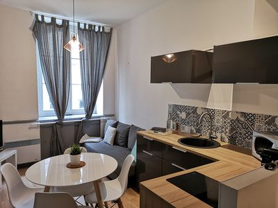 Photo for Cozy apartment in the heart of Nantes + parking