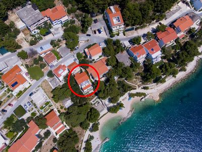 Photo for Studio appartment in Brela (Makarska) capacity 4+0