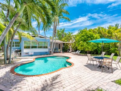 Tropical Cabana 2/2 For 6 Guests, Private Heated Pool near Hollywood Beach
