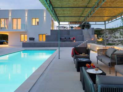 Photo for Private country villa with pool