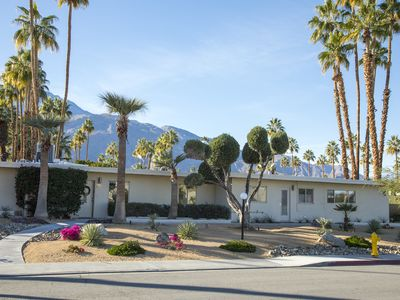 Photo for Mid Century 3 bedroom Condo in South Palm Springs