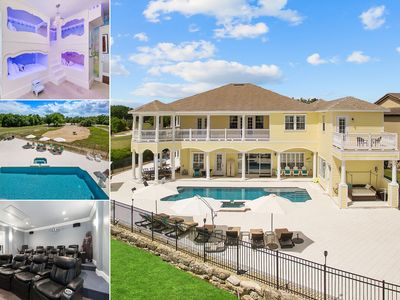 Photo for The House at Reunion | 8,200 Sq. Ft., 40 Ft. South Facing Pool