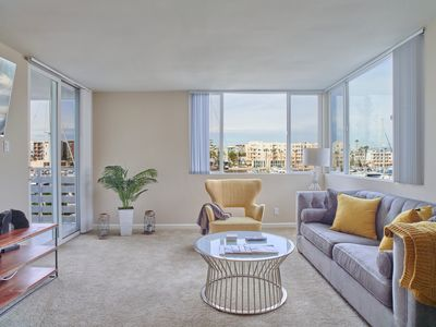 Photo for Amazing Waterfront Marina View 2 Beds 2 Bath Apt by the HARBOR - Venice Beach