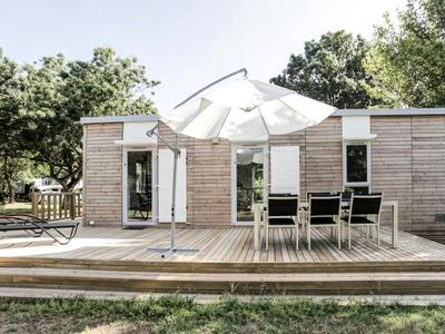 Photo for Camping Flower L'Ile d'Offard ***** - Mobil Home Premium 3 Rooms 4/6 People