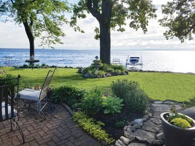 Photo for EAA 2019 Private Lakefront Home