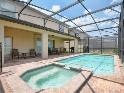 Photo for BRAND NEW HOME WITH GAME ROOM, JACUZZI, BBQ GRILL AND MUCH MORE!!