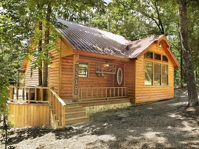 Photo for Cascade - Enchanting Couples Cabin