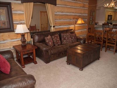 Photo for SPRING BREAK SALE!  Rustic Elegance Condo - Perfect Location, Best 1BR in Breck!