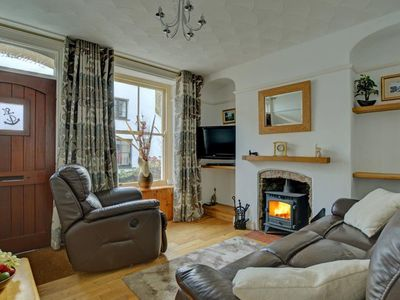 Photo for Nice holiday home in the beautiful, hilly Looe, near the sandy beach
