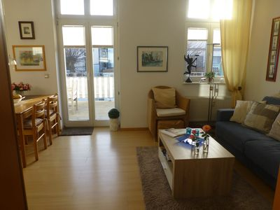 Photo for quality einger. Apartment f. 2-4 P. centrally gel. Roof terrace 21 sqm InternetWireless internet