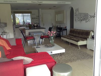 Photo for Luxurious air-conditioned and heated apartment Mijas Costa 100m from the sea.