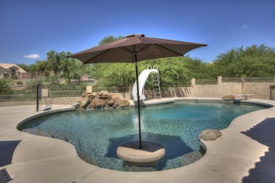4 Bedroom Single Story Golf Course Home, Heated Diving Pool + ...