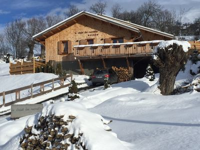 Photo for Chalet, Barcelonnette, Le SAUZE 1400-1750m