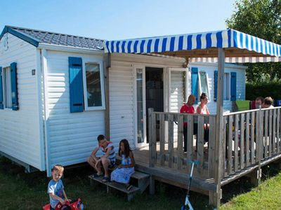 Photo for Camping L'Océan ***** - Féerique Mobile Home 4 Rooms 6/8 People