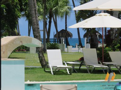 Photo for Beach Front Residence / Pool-Restaurant-Spa-Gym / Private Beach / Wifi