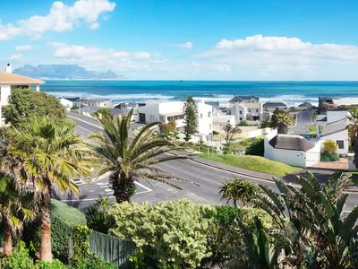 Photo for Luxury ocean view house with indoor pool, decks, yard and a braai area