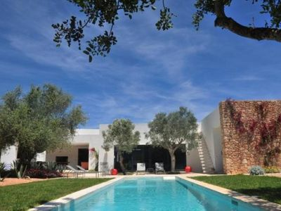 Photo for Luxury house decorated by Patricia Urquiola, very close to Ibiza, surrounded by field with orchard and 36 fruit trees.