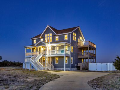 Photo for Rise n Shine - Peaceful 7 Bedroom Oceanfront Home in Waves