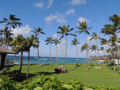 Pure Paradise!  The ocean view from the lanai of unit 17!