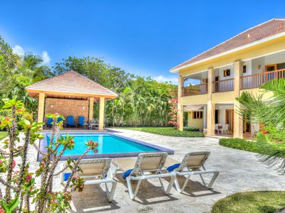 Photo for Great for Families! Spacious Villa with Pool, Near Beach/Resort Amenities, AC, Free Wifi, Maid Svc.
