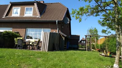 Photo for Haus Seedeich »Lea« - The holiday home - 150m to the North Sea - with garden + W-LAN