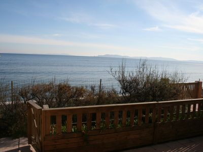Photo for The T2 Picks, waterfront, terrace with access to the beach, comfortable