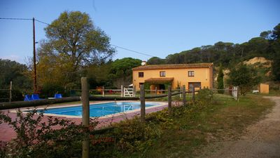 Photo for Espai Rural La Fàbrega, pool, free wifi, barbecue, ideal families.