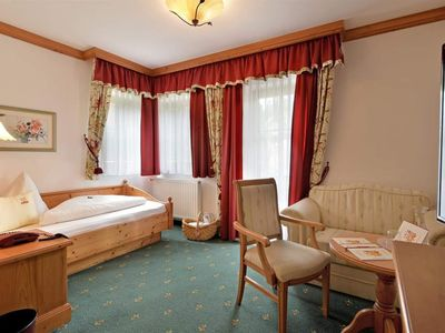 Photo for Living comfort single room in a panoramic hotel 1-6 days - Vital- & Panoramahotel Sonnenhof