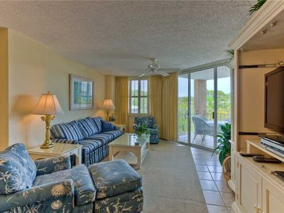 Photo for Ocean View and Pet Friendly! Enjoy this Oceanfront Condominium with Private Boardwalk
