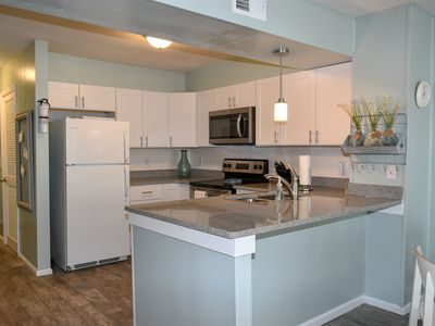 Photo for 3 Bedroom/2.5 Bath Oceanfront Condo with Ocean View.  Pool. WIFI. Great location