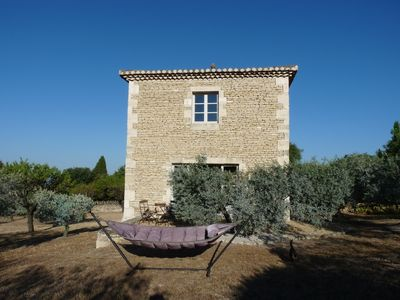 Photo for Magnificent studio with garden in olive grove