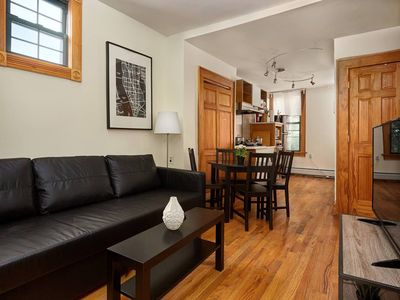 Photo for Charming 2 BR Apartment  15 mins to NYC