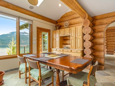 Photo for Lake Front Log Home on Kootenay Lake,British Columbia