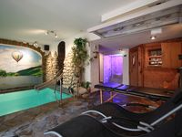 A lovely cosy apartment with the added bonus of an indoor heated pool to relax in
