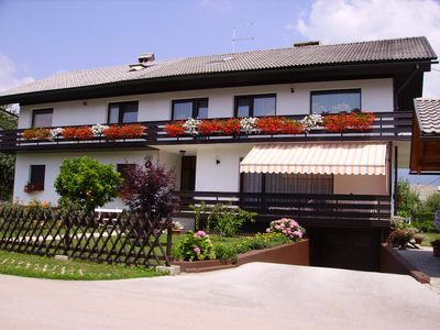 Photo for Large Apartment With 2 Balconies and A/C in a Beautiful Quiet Location in Bled