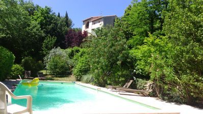Photo for Provencal property of 1840, charm and great pool
