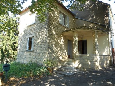 Photo for HOUSE IN SARLAT 7 bedrooms, private heated pool + WIFI free