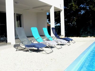 Photo for Filipana - Aria -holiday home with private pool, for 8 gusets, close to the see