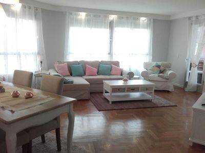 Photo for Beautiful newly renovated downtown apartment with terrace and 3 bedrooms