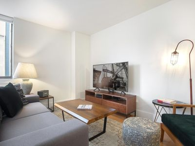 Photo for Stunning Chelsea 1BR w/ Doorman, Roofdeck, BBQs & Lounge, by Blueground