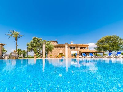 Photo for 5 bedroom Villa, sleeps 10 in sa Pobla with Pool, Air Con and WiFi