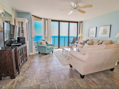Photo for Beach Club II 9E, Beautifully Decorated 4 BR Condo with 2 Swimming Pools and Stunning Ocean Front Views