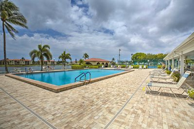 Take advantage of the resort amenities, including a pool & tennis courts!